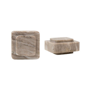 Modern Stone Bookends (Set of 2)