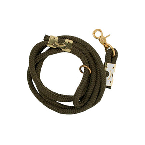 Olive Rope Leash