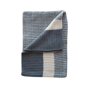 Load image into Gallery viewer, Ribbed Cotton Throw