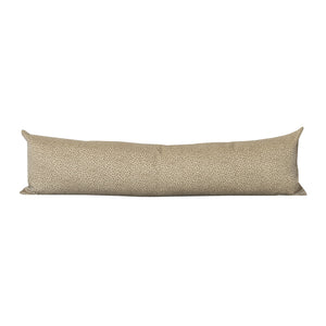 Tan Leopoard Lumbar Pillow