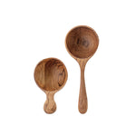 Teak Scoop Set