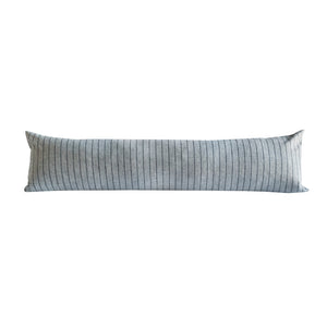 Ticking Stripe Lumbar Pillow
