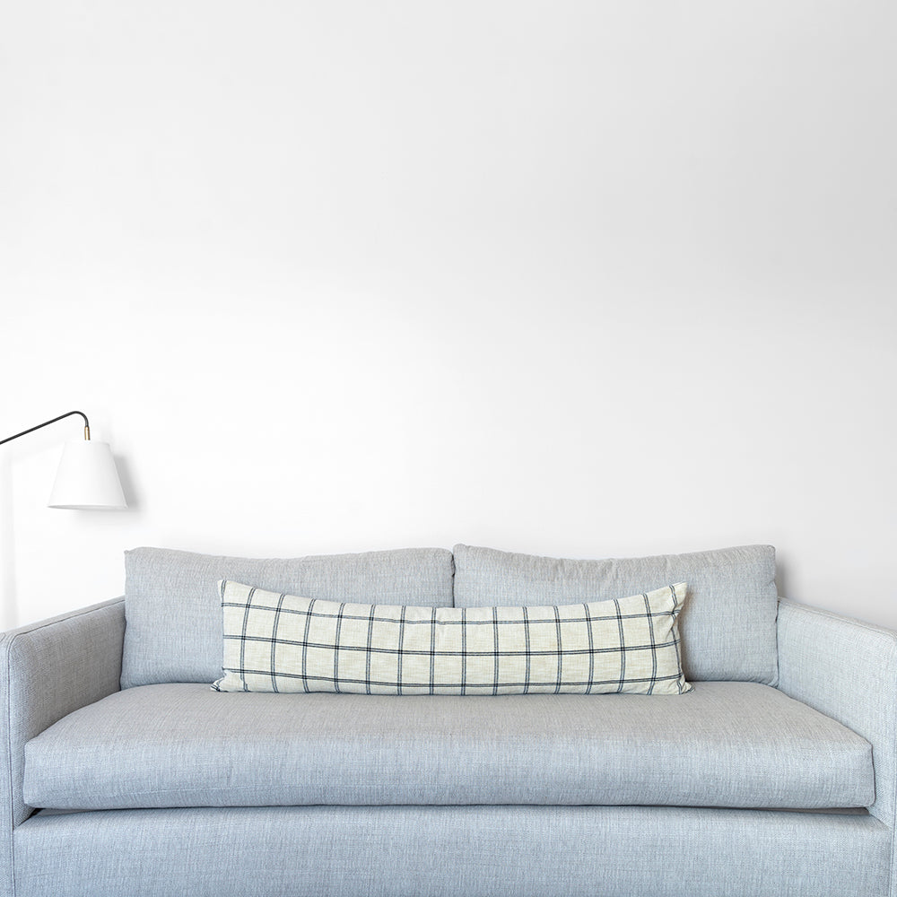 Load image into Gallery viewer, Windowpane Lumbar Pillow