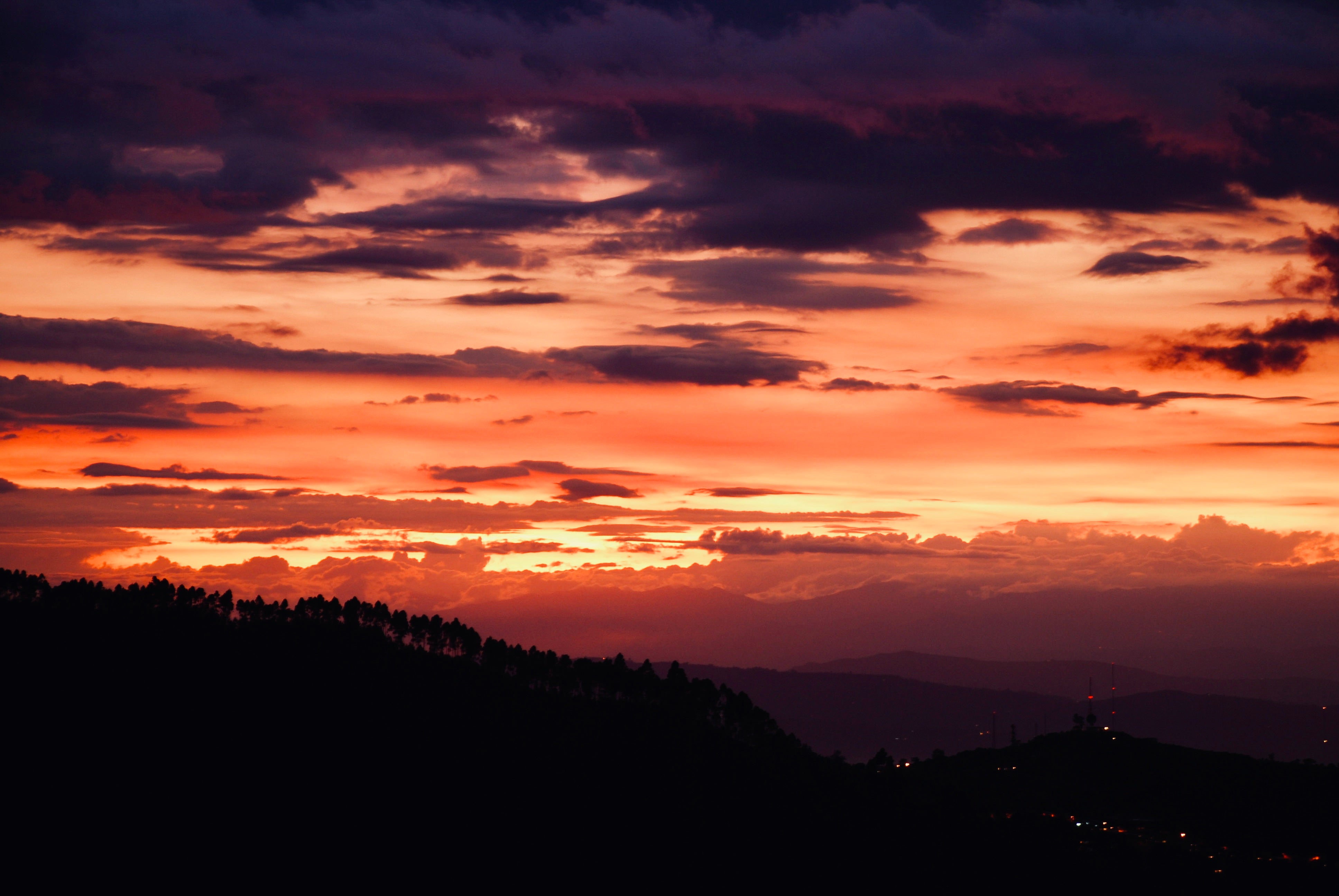 Sunset in Colombia