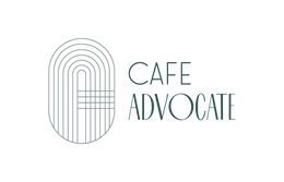 Cafe Advocate logo for top header page