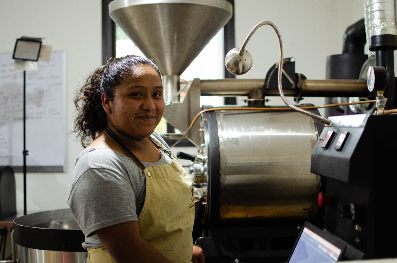 Chica Coffee Roaster at Guatemala Chica Bean