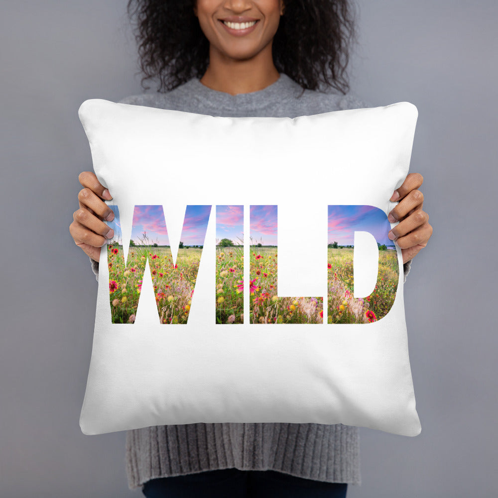 Wild Flower Basic Pillow