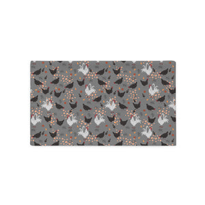 Hens & Roosters Pillow Case