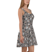 Load image into Gallery viewer, Hens & Roosters Skater Dress