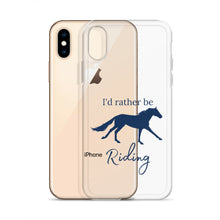 Load image into Gallery viewer, I'd Rather Be Riding iPhone Case