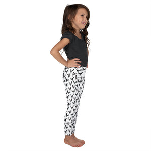 Repeating Roosters Kid's Leggings, size 2T - 7