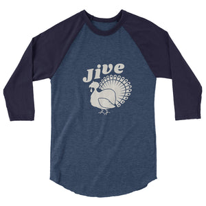 Jive Turkey 3/4 sleeve raglan shirt