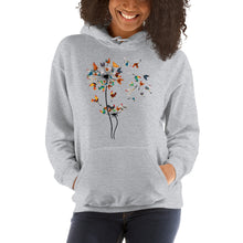 Load image into Gallery viewer, Chicken Dandelion Unisex Hoodie