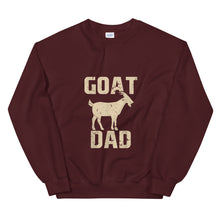 Load image into Gallery viewer, Goat Dad Unisex Sweatshirt