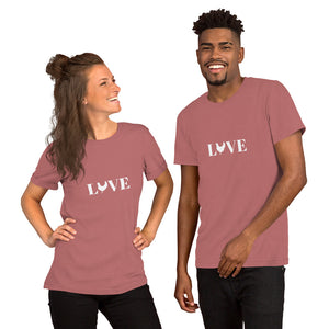 Chicken Love Short-Sleeve Unisex T-Shirt