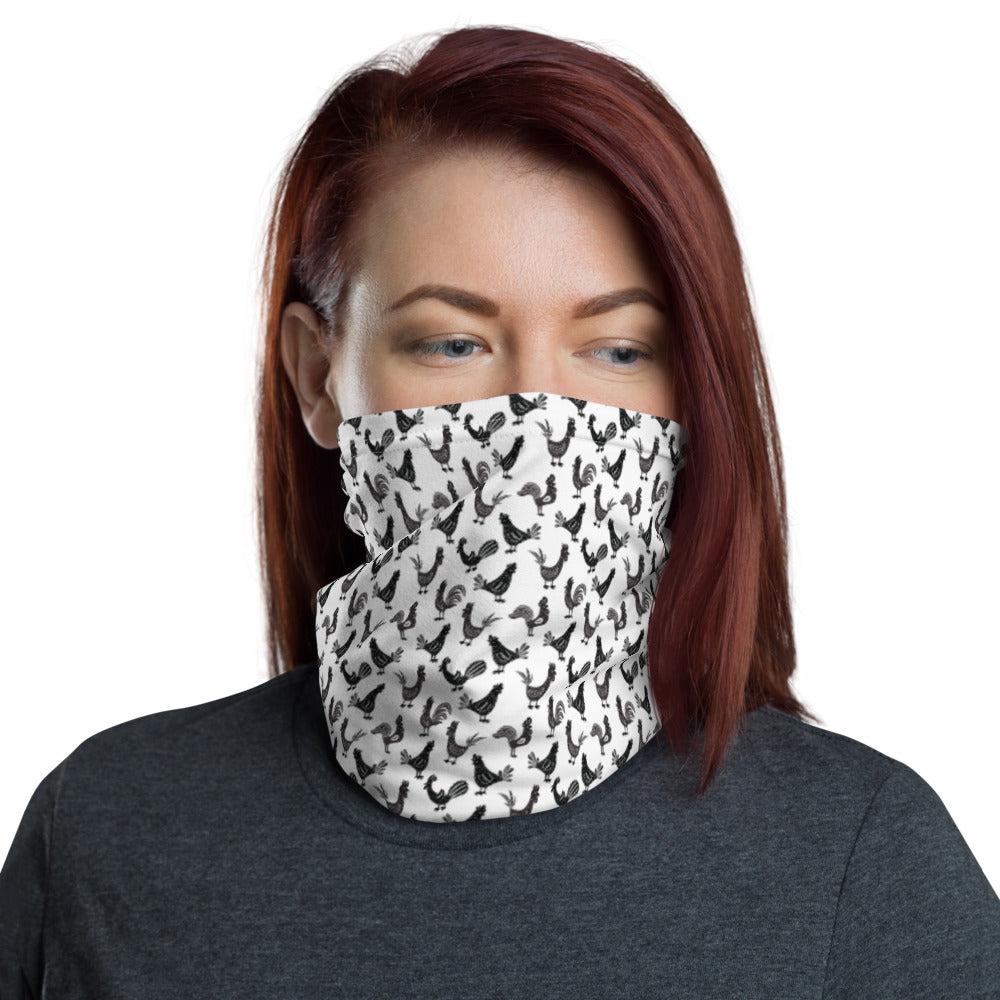 Repeating Rooster Neck Gaiter