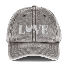Load image into Gallery viewer, Chicken Love Vintage Cotton Twill Cap