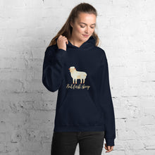Load image into Gallery viewer, But First, Sheep Unisex Hoodie