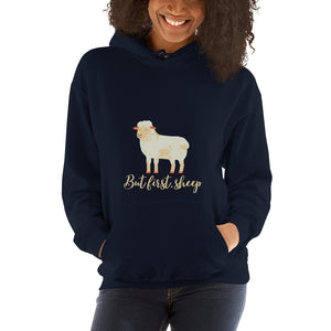 But First, Sheep Unisex Hoodie