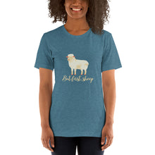 Load image into Gallery viewer, But First, Sheep Short-Sleeve Unisex T-Shirt