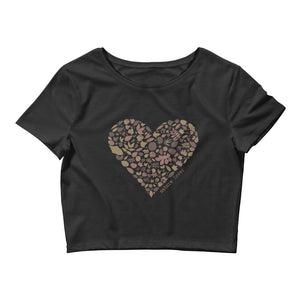 Nature Lover Women's Crop Tee