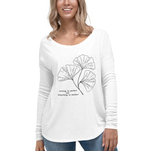 Load image into Gallery viewer, Nothing is Perfect Ladies' Long Sleeve Tee