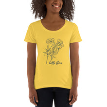 Load image into Gallery viewer, Belle Fleur Ladies' Scoopneck T-Shirt
