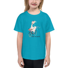 Load image into Gallery viewer, Life is Good Llama Youth Short Sleeve T-Shirt
