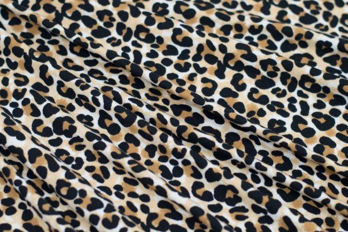 Animal Print Double Brushed Poly|By the Half Yard