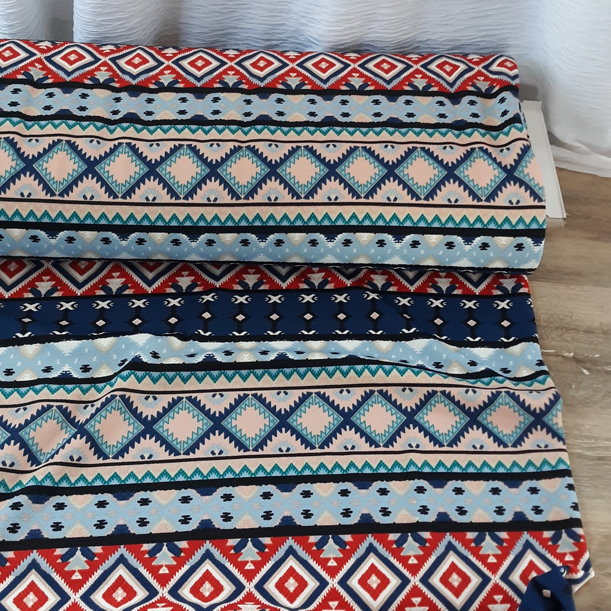 Boho Aztec Liverpool Knit|By the Half Yard
