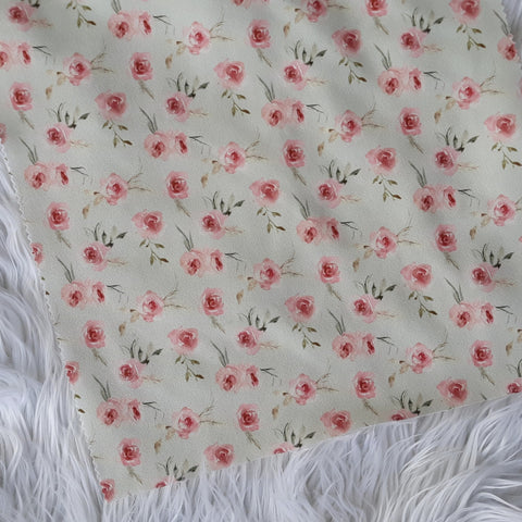DTY Small Blush Floral| By the Half Yard