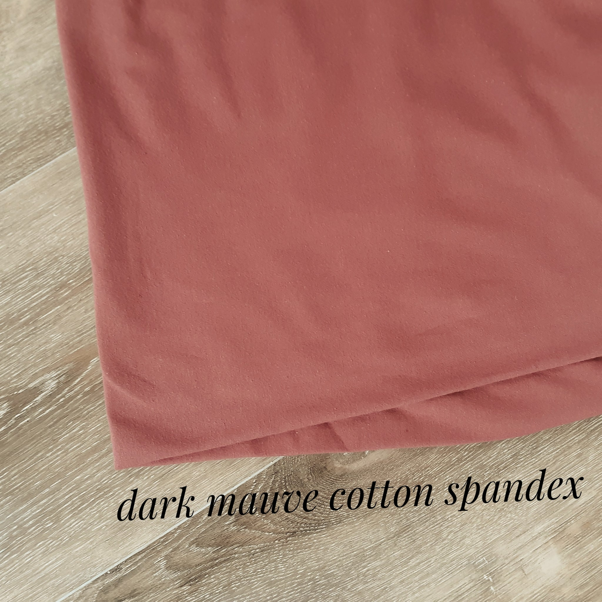 Cotton Spandex Solids|By the Half Yard