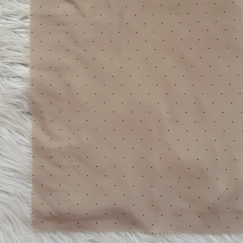 DTY Blush with Grey Mini Dots | By the Half Yard