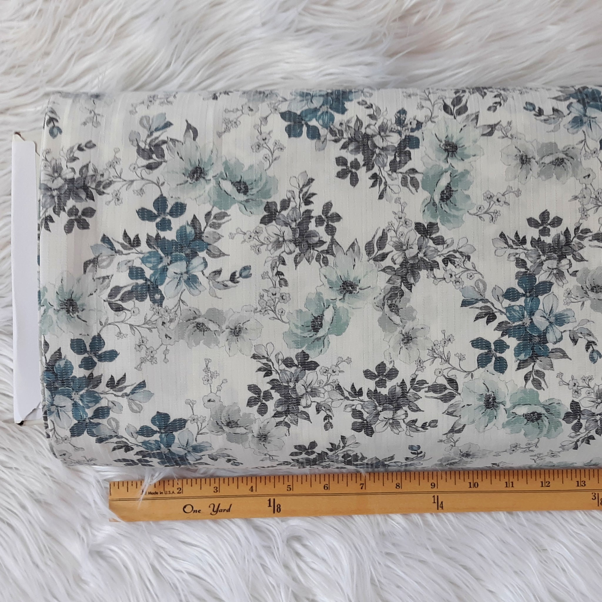 Spring Floral Polyester | By the Half Yard