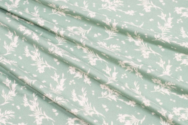Sprigs Mini Print Double Brushed Poly |By the Half Yard