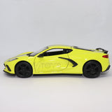 2020 Chevrolet Corvette C8 Z51 1:24 Scale Die-cast model