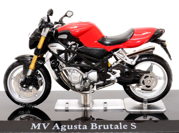 MV Agusta Brutale S 1:24 Scale Die-cast Model Motorcycle Motorbike by Atlas Editions