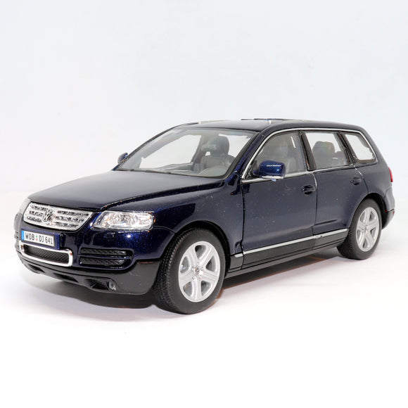 Volkswagen Touareg metallic blue by welly models
