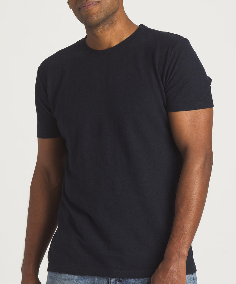 Classic Hemp Tee - Black - Common Strand