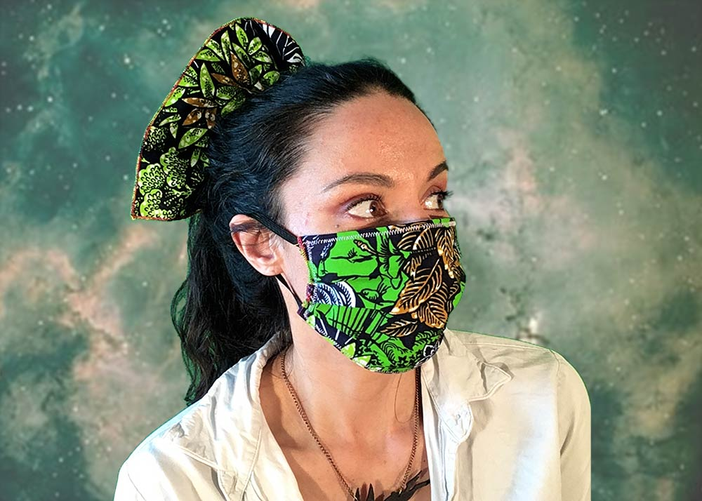 Adjustable Plague Mask: PLANET PEACOCK