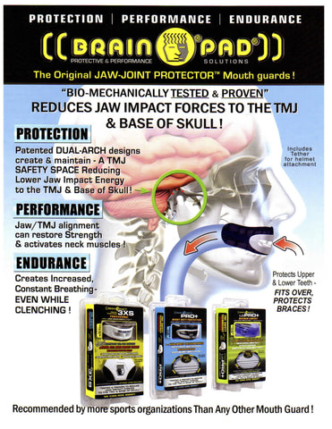Brain Pad Pro Plus mouthguard JR