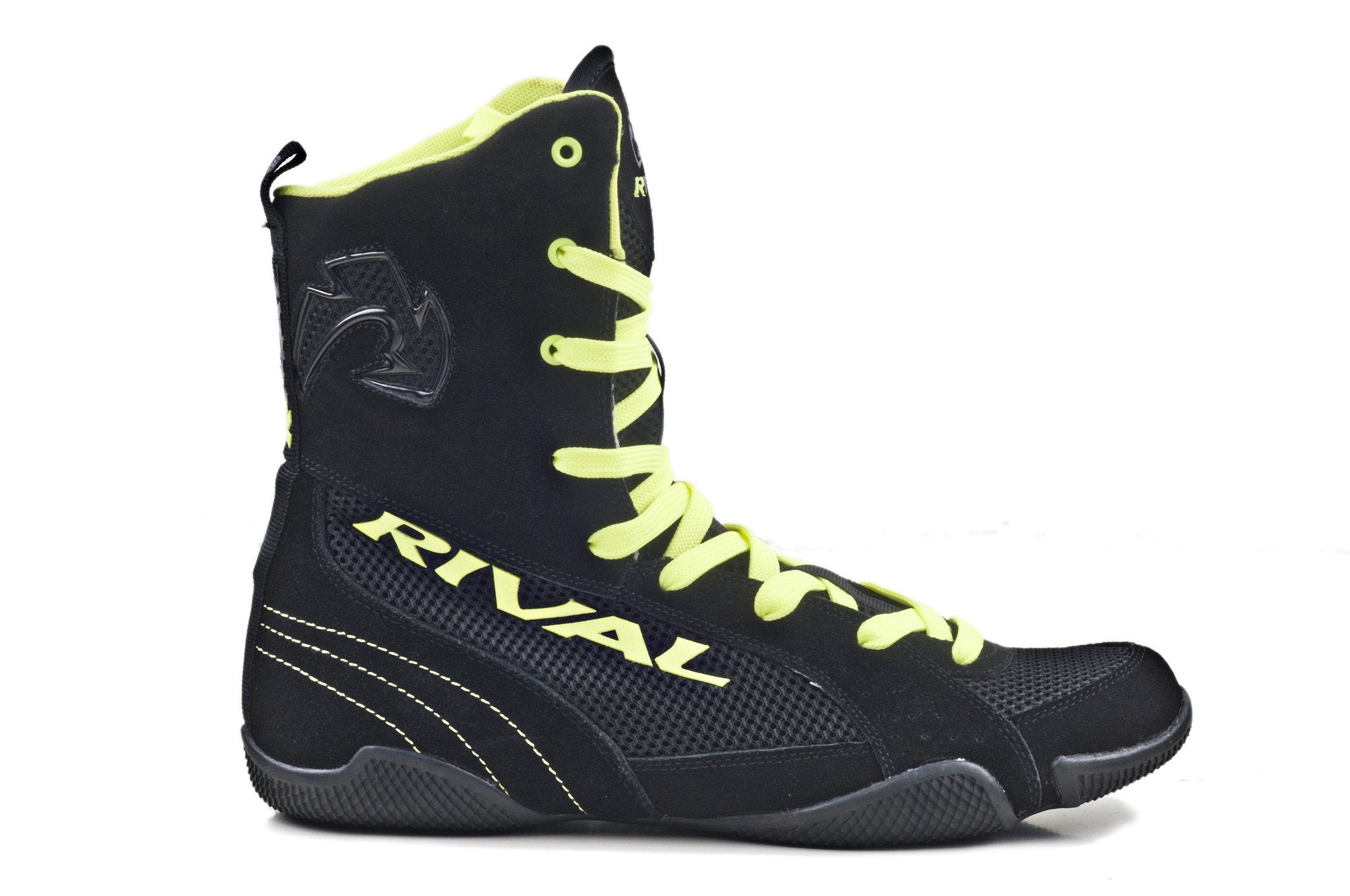 Rsx One Classic Hi Top Boxing Boots Rival Boxing Gear Usa