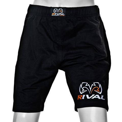 Rival TRAD Sweat Shorts with Bottom Leg Logo