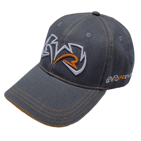 Rival Baseball cap, Grey & Orange