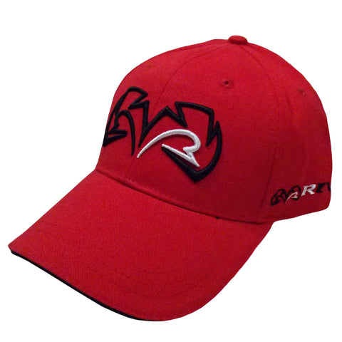 Rival Baseball cap, Red & Black