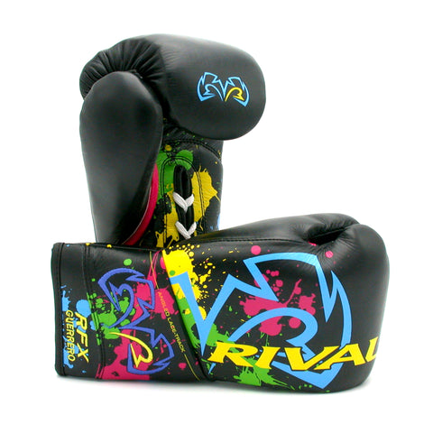 Rival RFX-Guerrero Pro Fight Gloves - Paint Splash Limited Edition