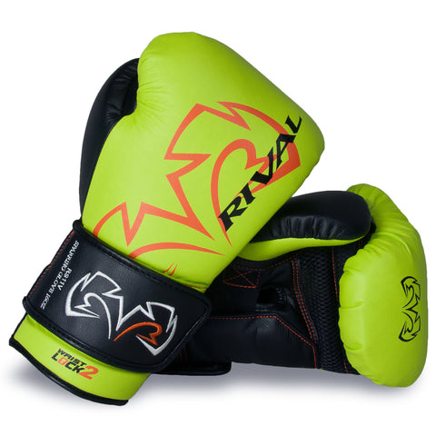 Rival RS11 Boxing glove - Lime Green