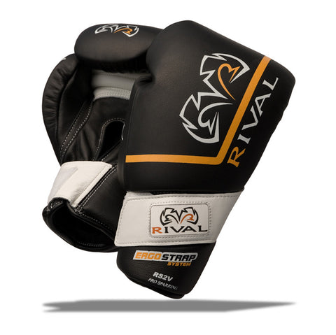 Rival RS2V Boxing glove - Black