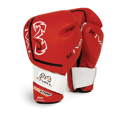 Rival RS2V Boxing glove - Red