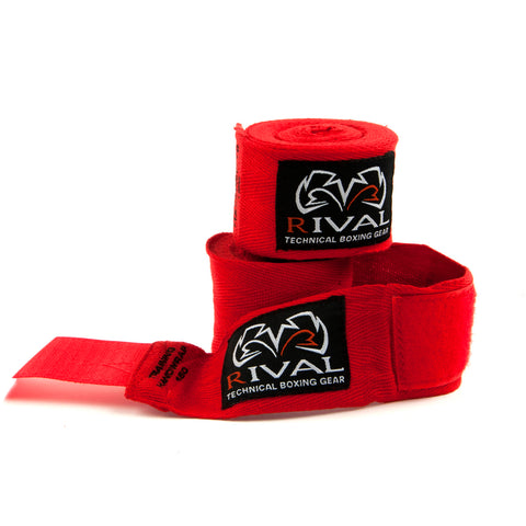 Rival Cotton Handwraps - Pack of 10